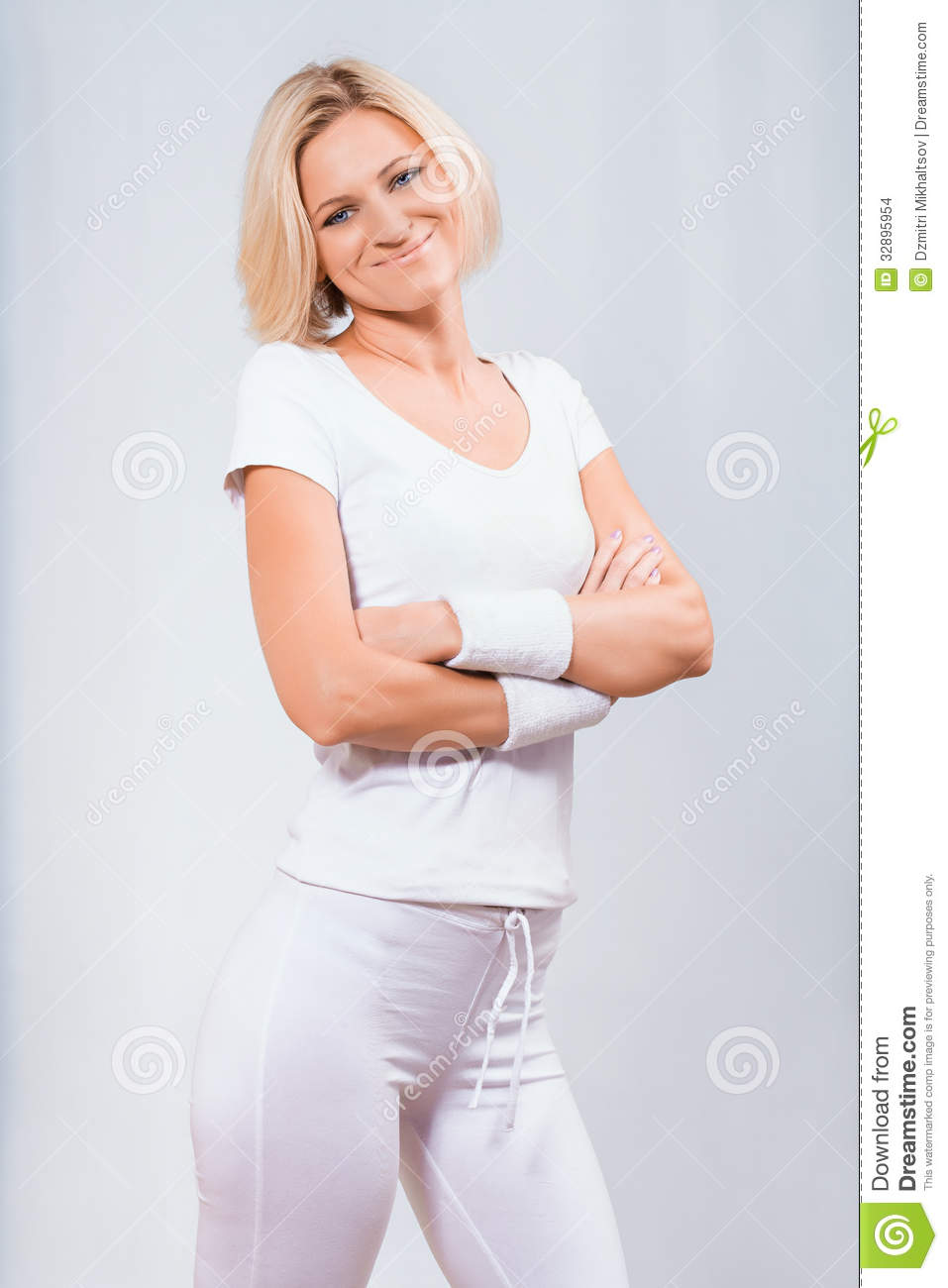 Beautiful fitness lady stock images image 32895954 for Lady fitness