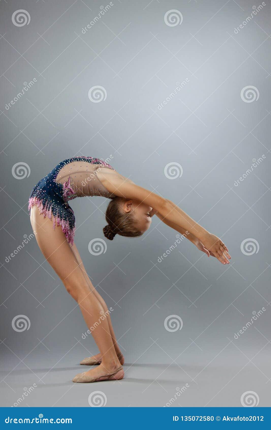 Really flexible gymnast
