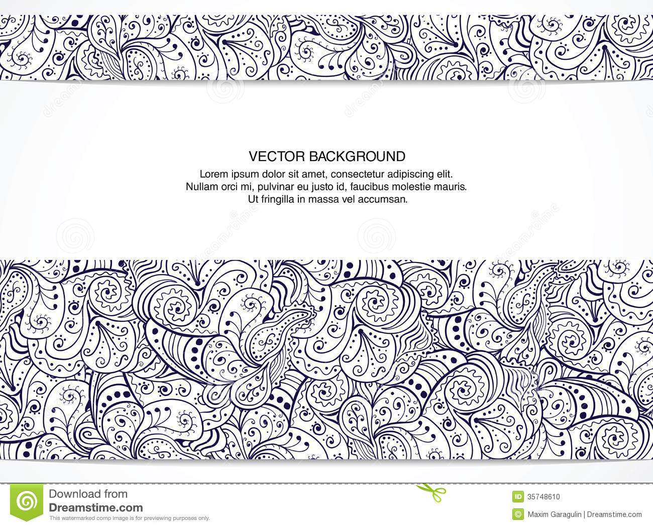 Beautiful floral invitation card black and white stock vector royalty free stock photo stopboris Image collections