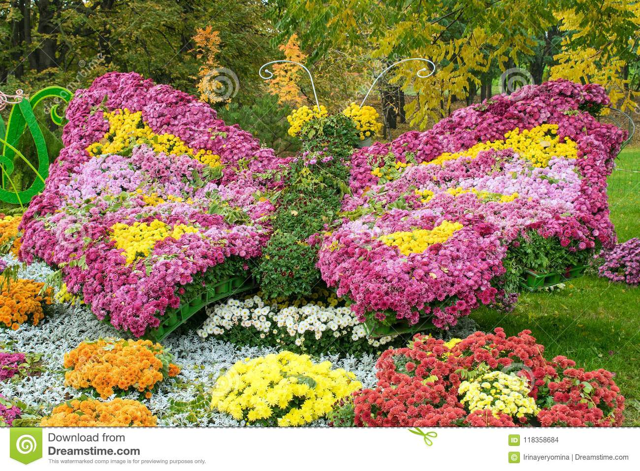 Beautiful flower arrangement in the form of a multi colored stock beautiful flower arrangement in the form of a multi colored izmirmasajfo