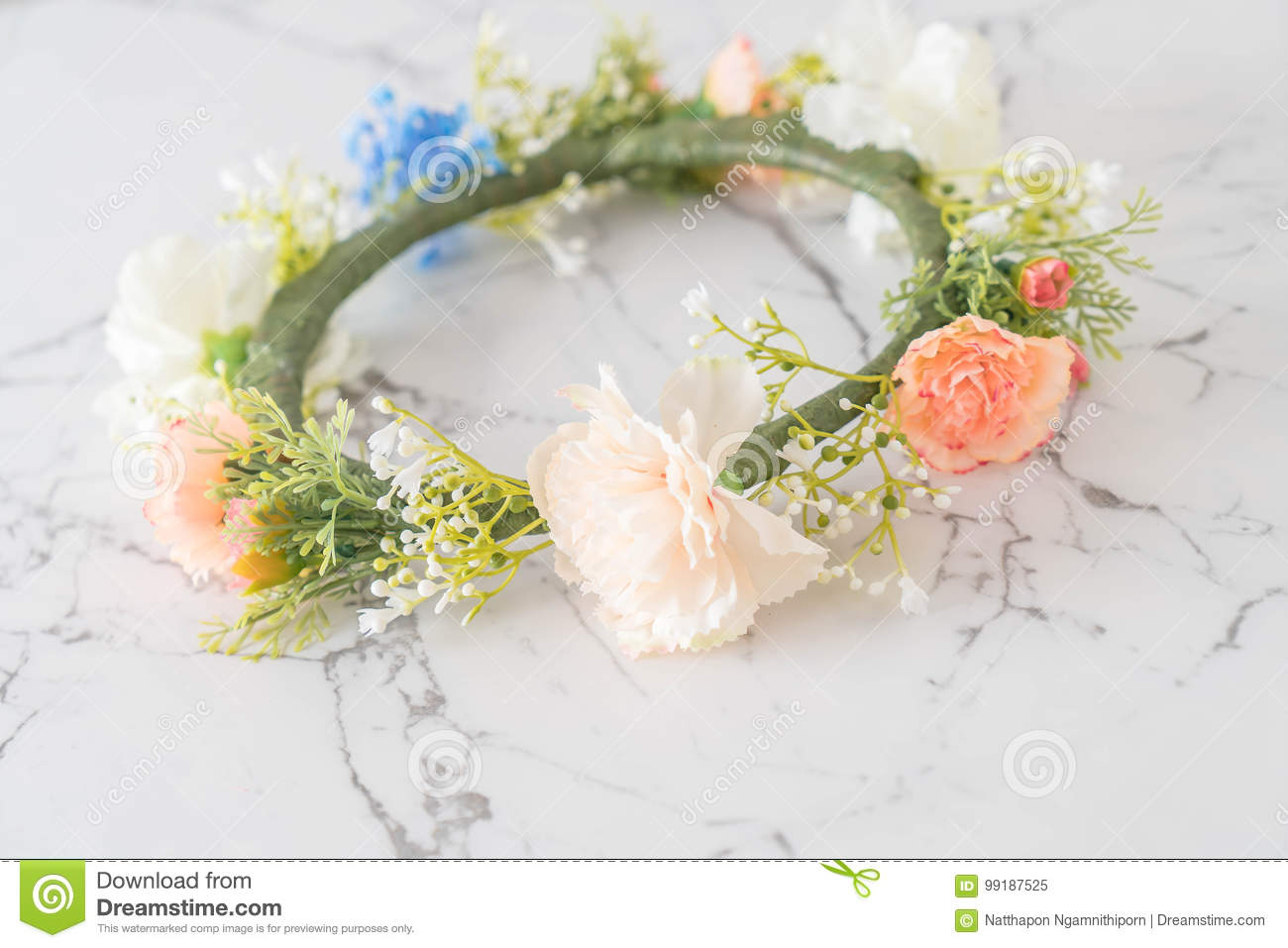 Beautiful flower crown stock image image of design nature 99187525 beautiful flower crown izmirmasajfo