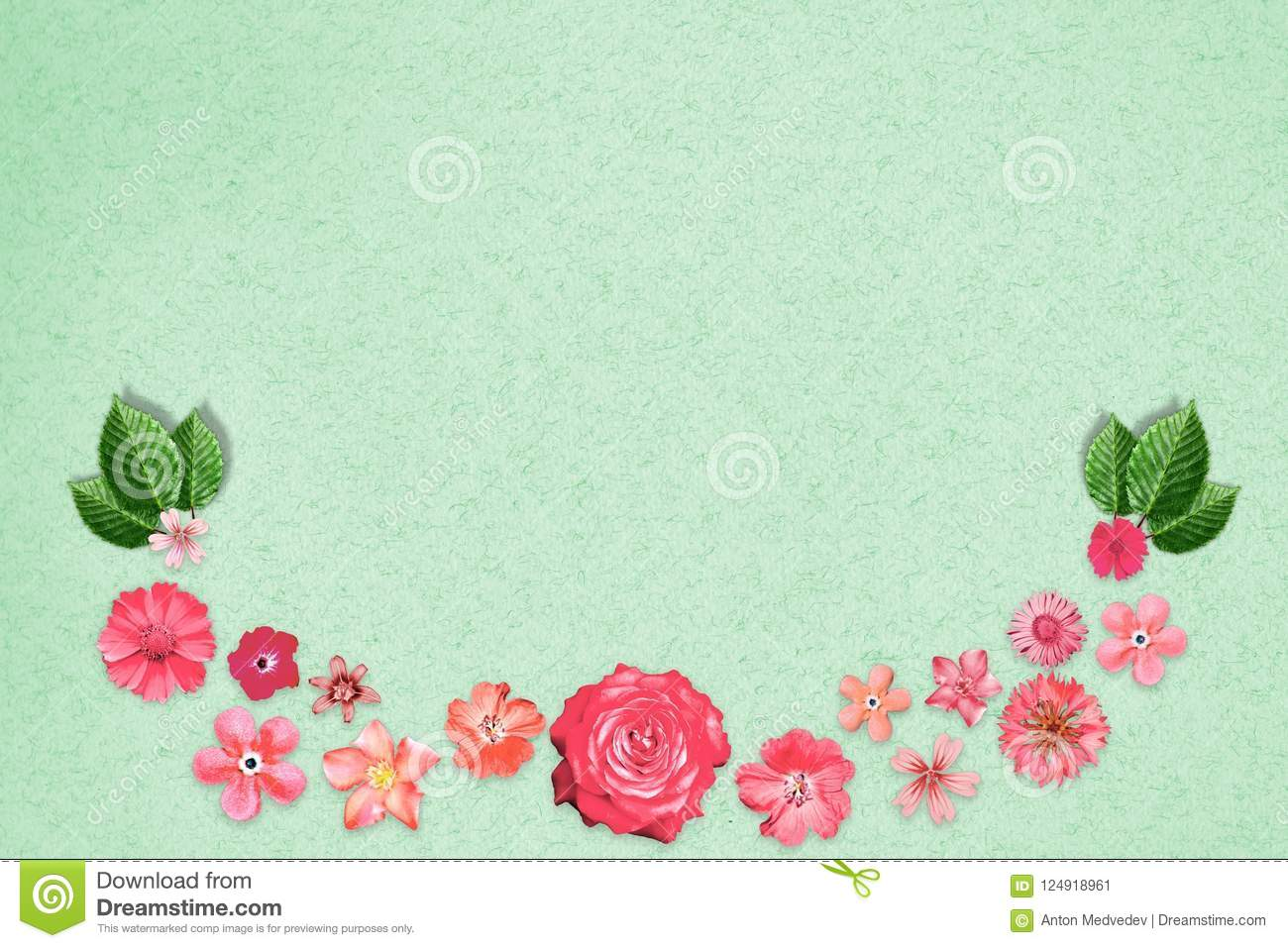 Beautiful flower design frame with empty in center on green design download beautiful flower design frame with empty in center on green design paper background floral izmirmasajfo