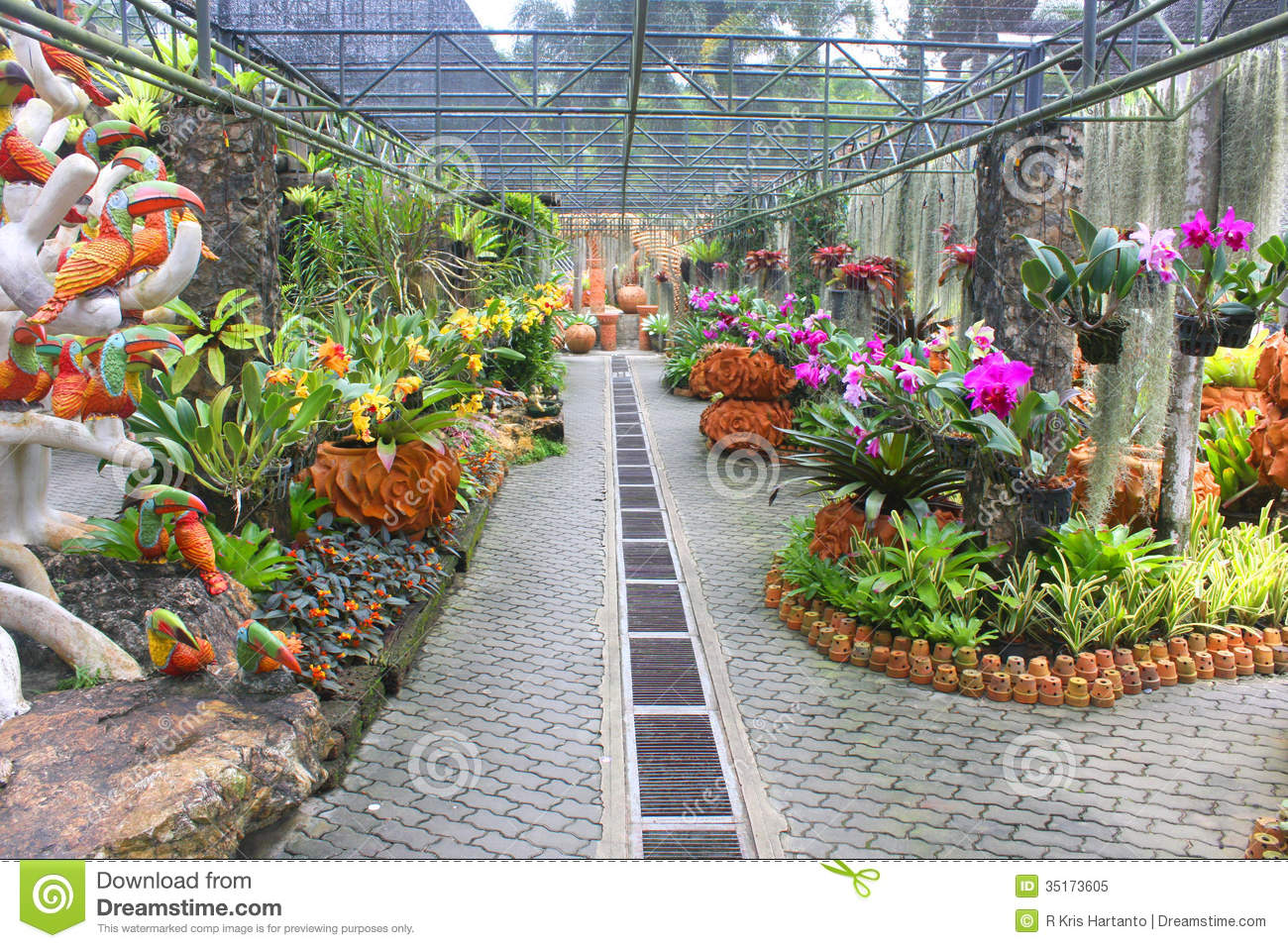 Beautiful Flower Garden Royalty Free Stock Photo Image 35173605