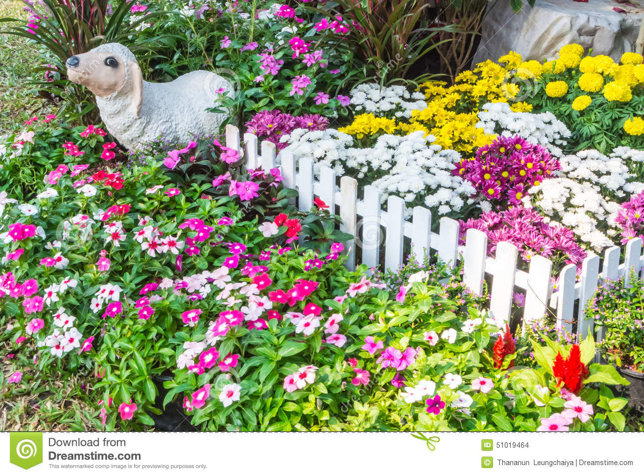 Beautiful flower garden stock photo image of home leisure 51019464 download beautiful flower garden stock photo image of home leisure 51019464 izmirmasajfo