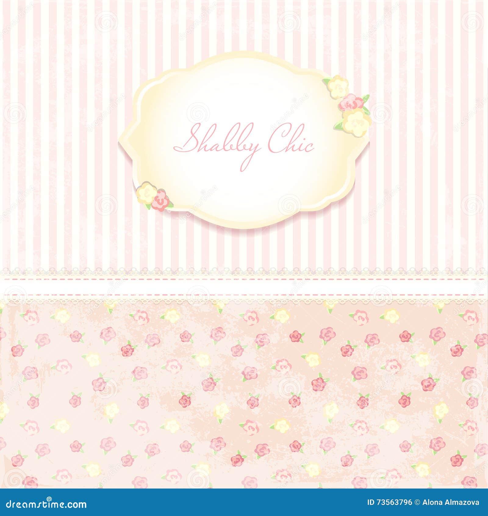Beautiful Flower-patterned Background. Shabby Chic Wedding ...