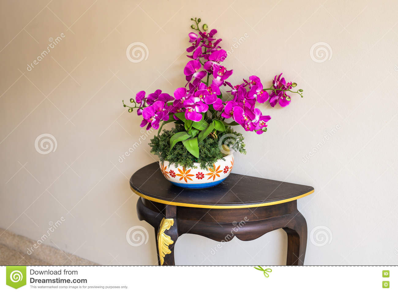 Beautiful Flower Pot Stock Image Image Of Fresh Natural 72607207