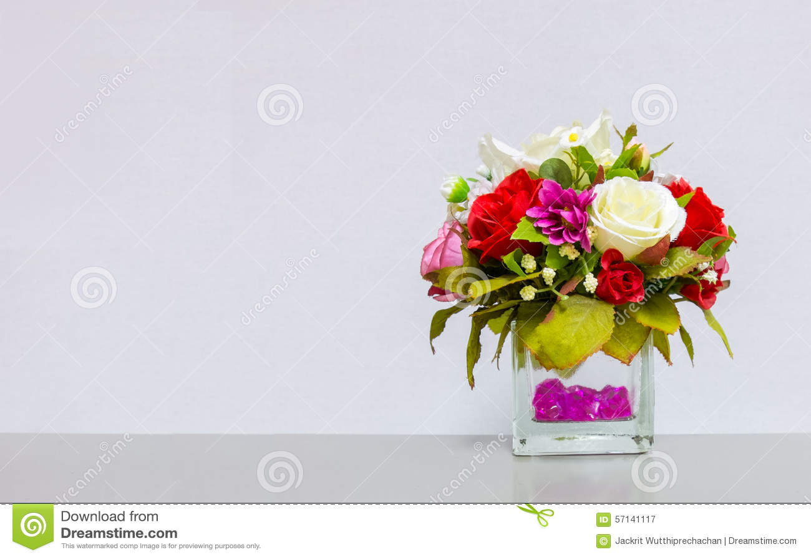 Beautiful flower vase at the corner on gray background with download beautiful flower vase at the corner on gray background with copyspace to input text used izmirmasajfo