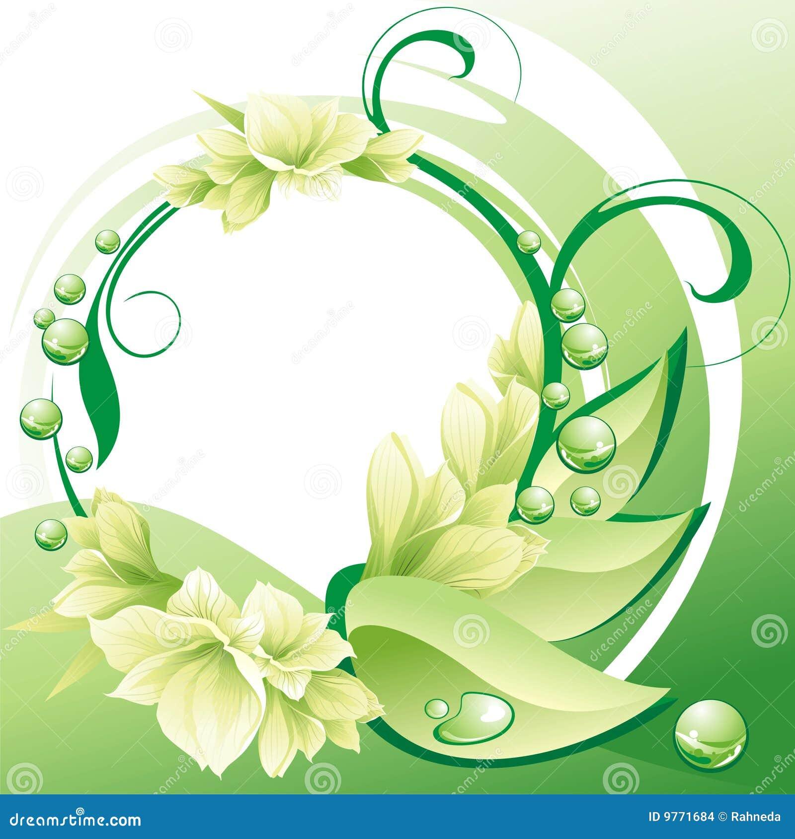 Beautiful flowers frame stock vector illustration of illustration beautiful flowers frame izmirmasajfo