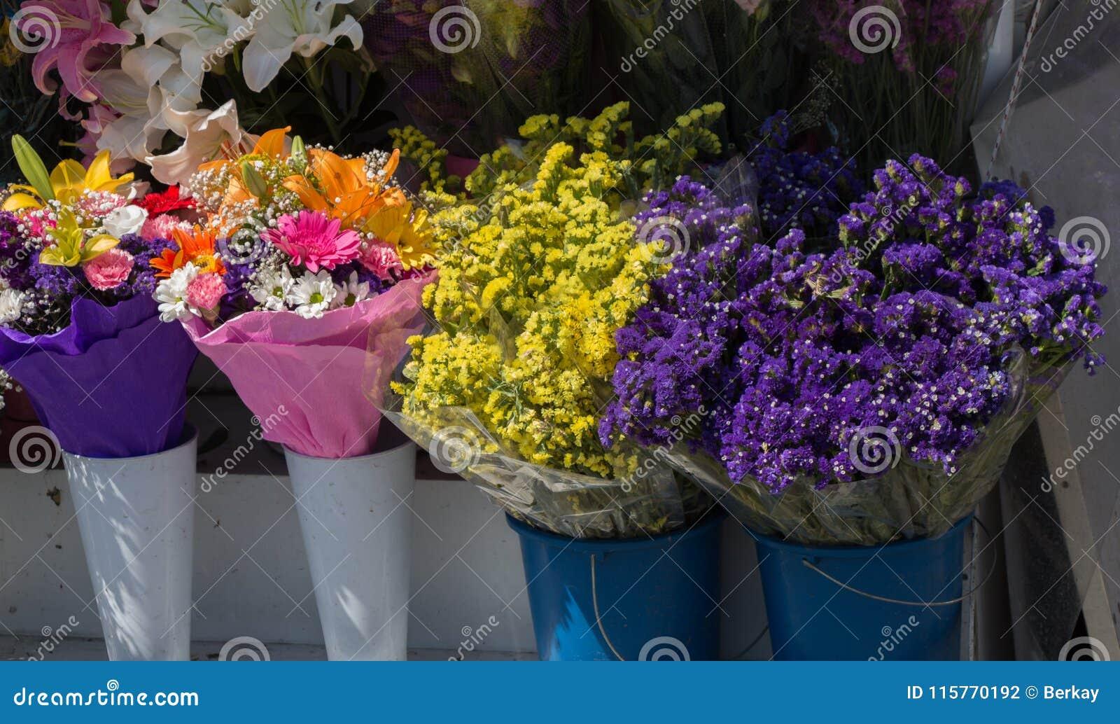Beautiful flowers of various types stock photo image of field download beautiful flowers of various types stock photo image of field environment 115770192 izmirmasajfo