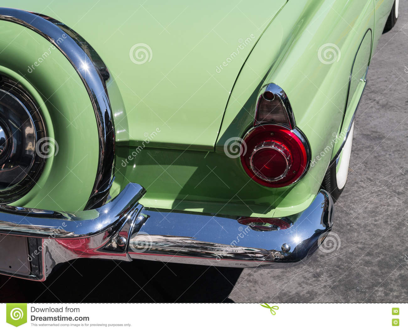 Beautiful Ford Thunderbird Stock Image Image Of Distinctive 75359959