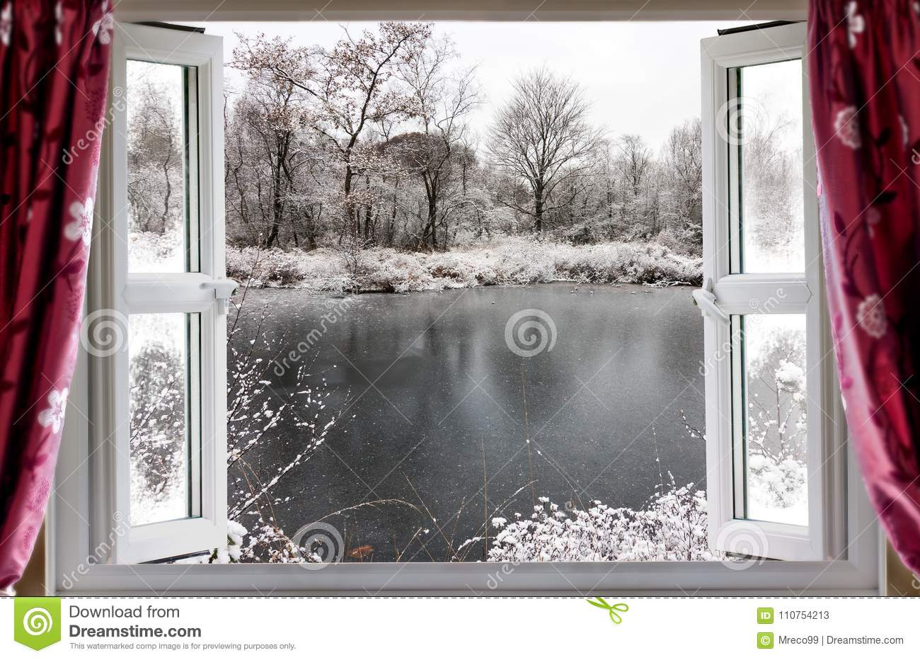 Window frozen open