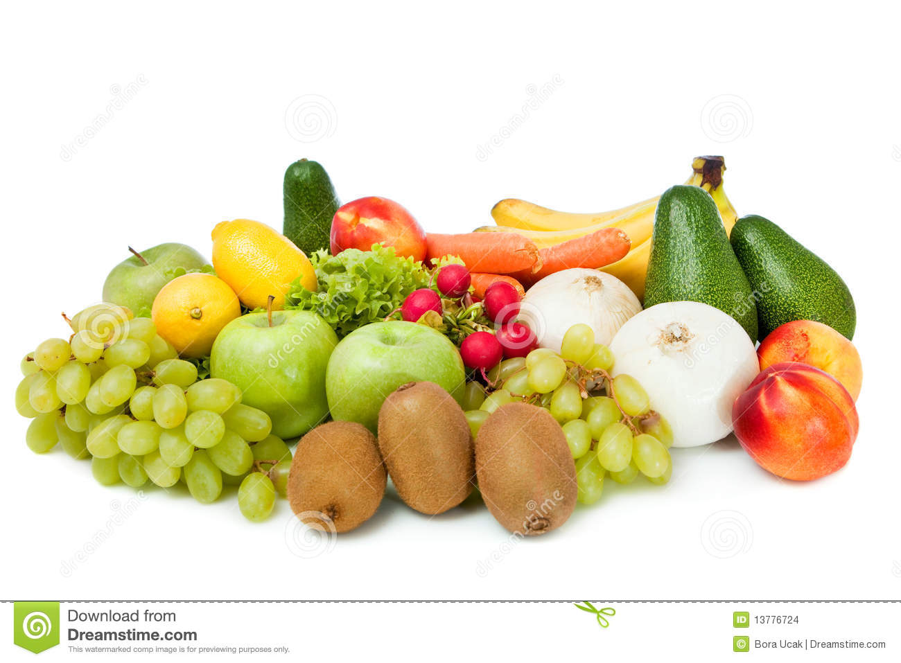 Beautiful fruits and vegetables stock images image 13776724 for Beautiful vegetables