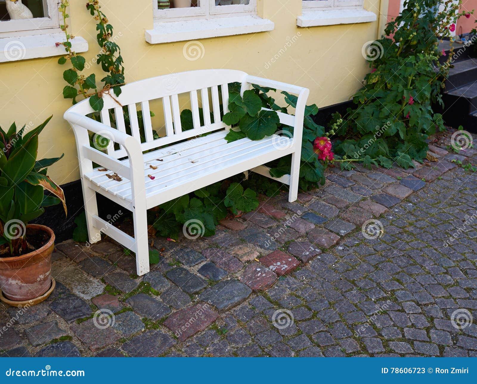 Beautiful Garden Wooden Bench Seating Corner Stock Image ... on wooden deck bench design, wooden work bench table, bed design, wood seat design, wooden garden bench, wooden curved bench seating, unique wood bench design, garden seat design, wooden outdoor bench ideas, patio seat design, wooden deck with bench,