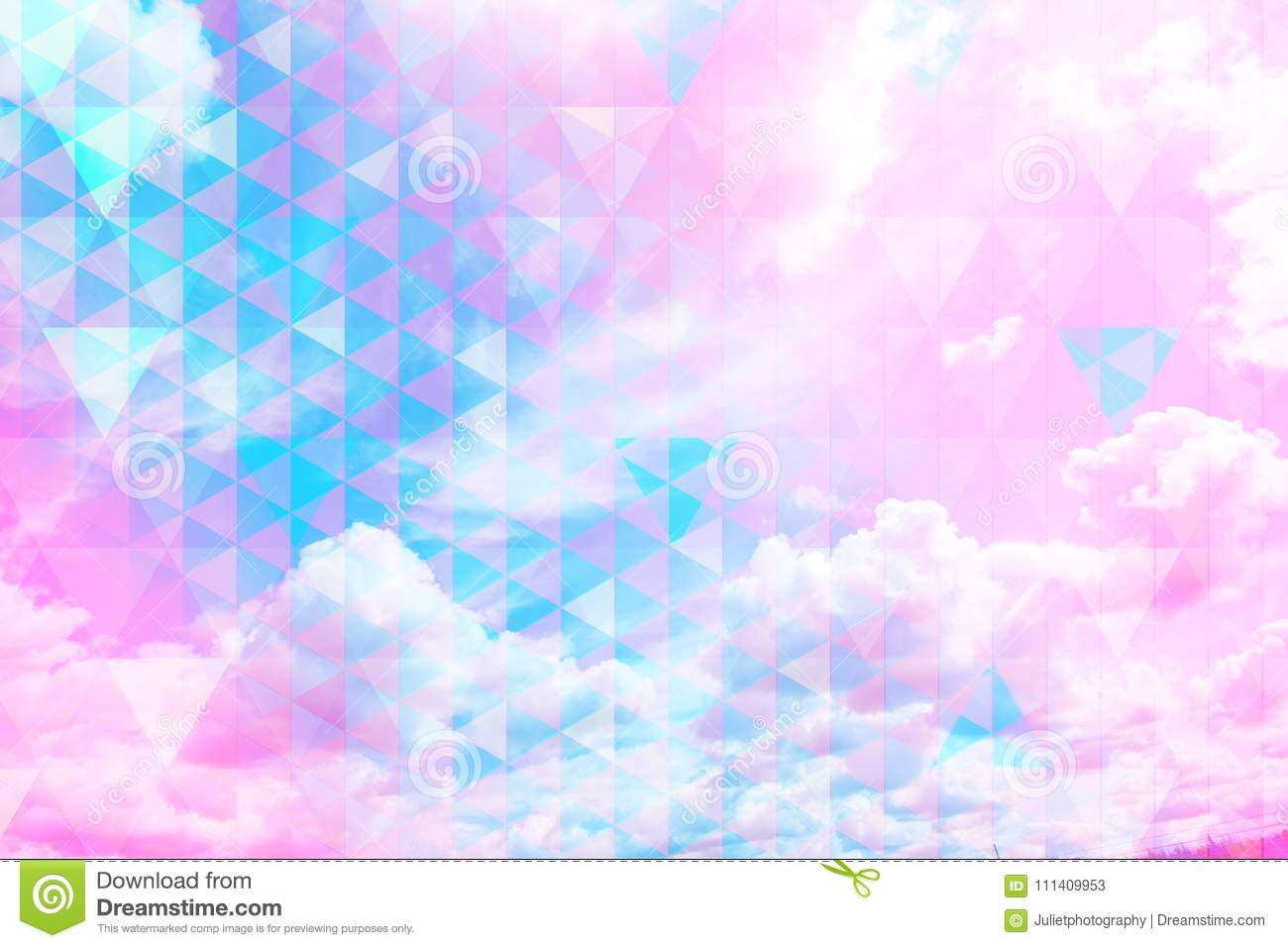 Beautiful sky Beautiful blue sky and white clouds, royalty free