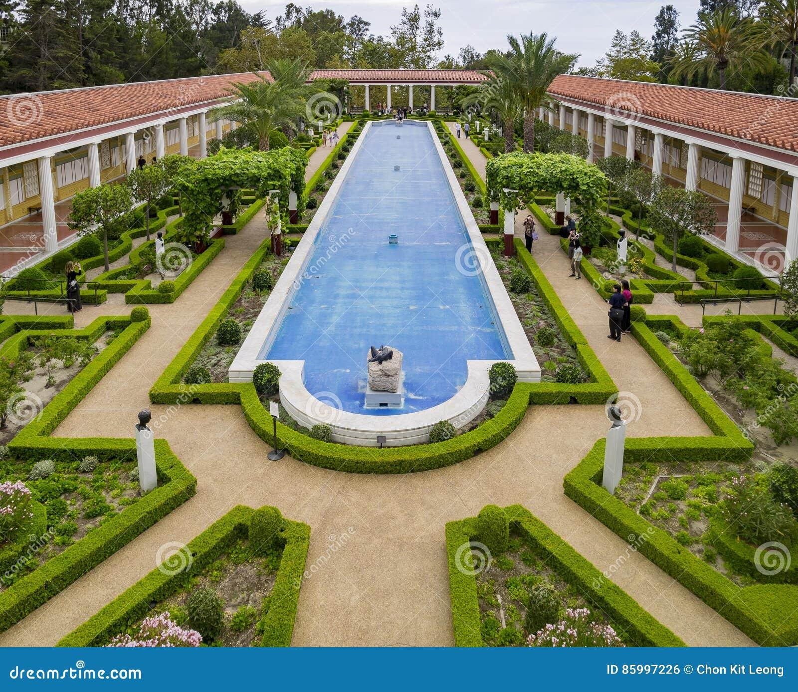 The beautiful Getty Villa