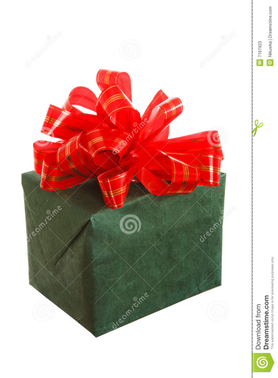 Beautiful gift box on white stock photos image 7167923 - How to make beautiful gift box ...