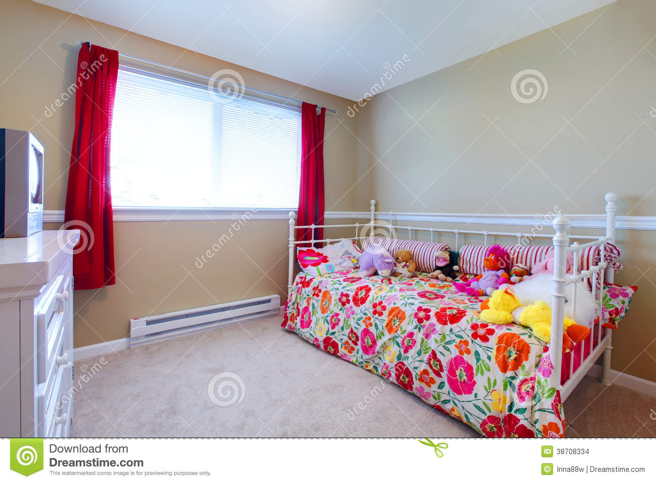 Beautiful girl bedroom stock photo image of child for Belle chambre de fille