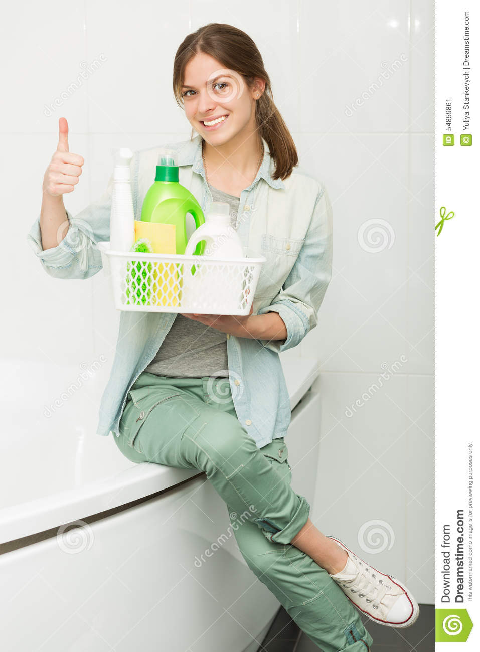 Woman cleaning up her house royalty free stock photo House beautiful com kitchens