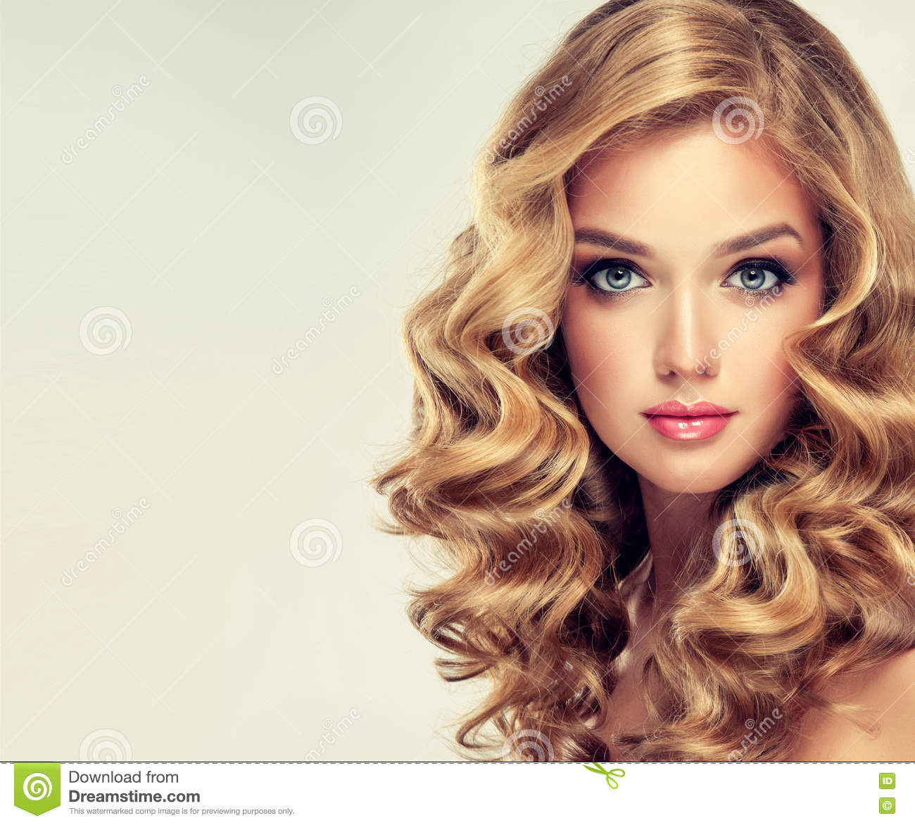 Beautiful Girl With An Elegant Hairstyle Stock Image Image - Girl hairstyle photo download
