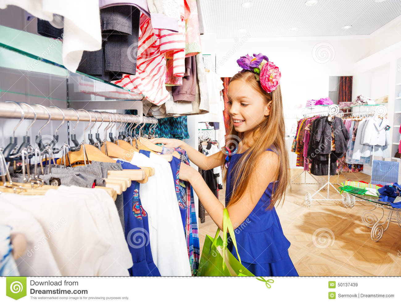 Pretty girls clothing store. Clothes stores
