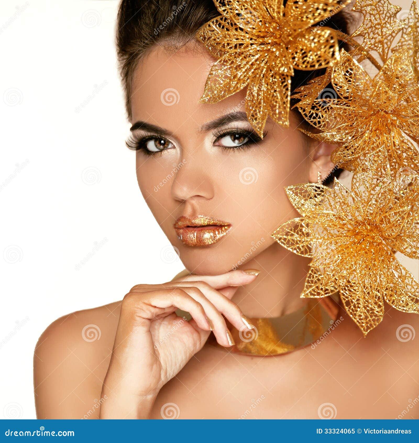 beauty girl face make - photo #38