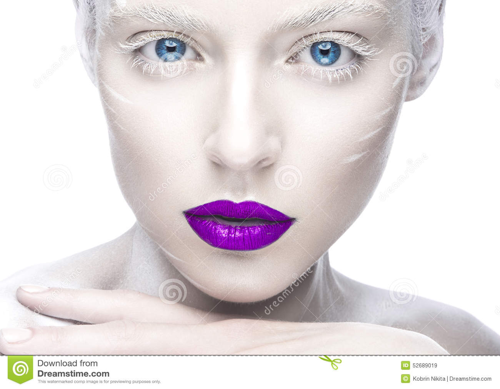 Ideal perfect white woman scandinavian beauty - 3 7