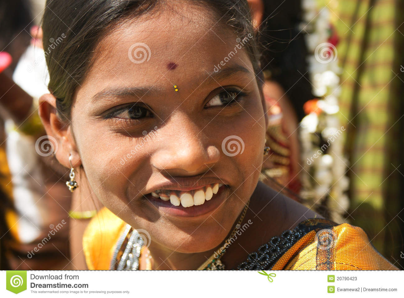 Beautiful Girl Of India Editorial Stock Photo Image Of -7959