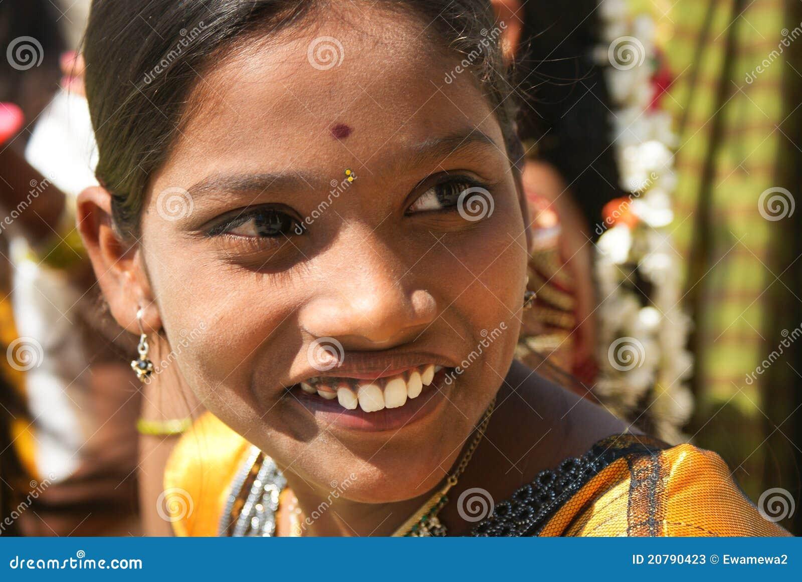 Beautiful Girl Of India Editorial Stock Photo Image Of -7959