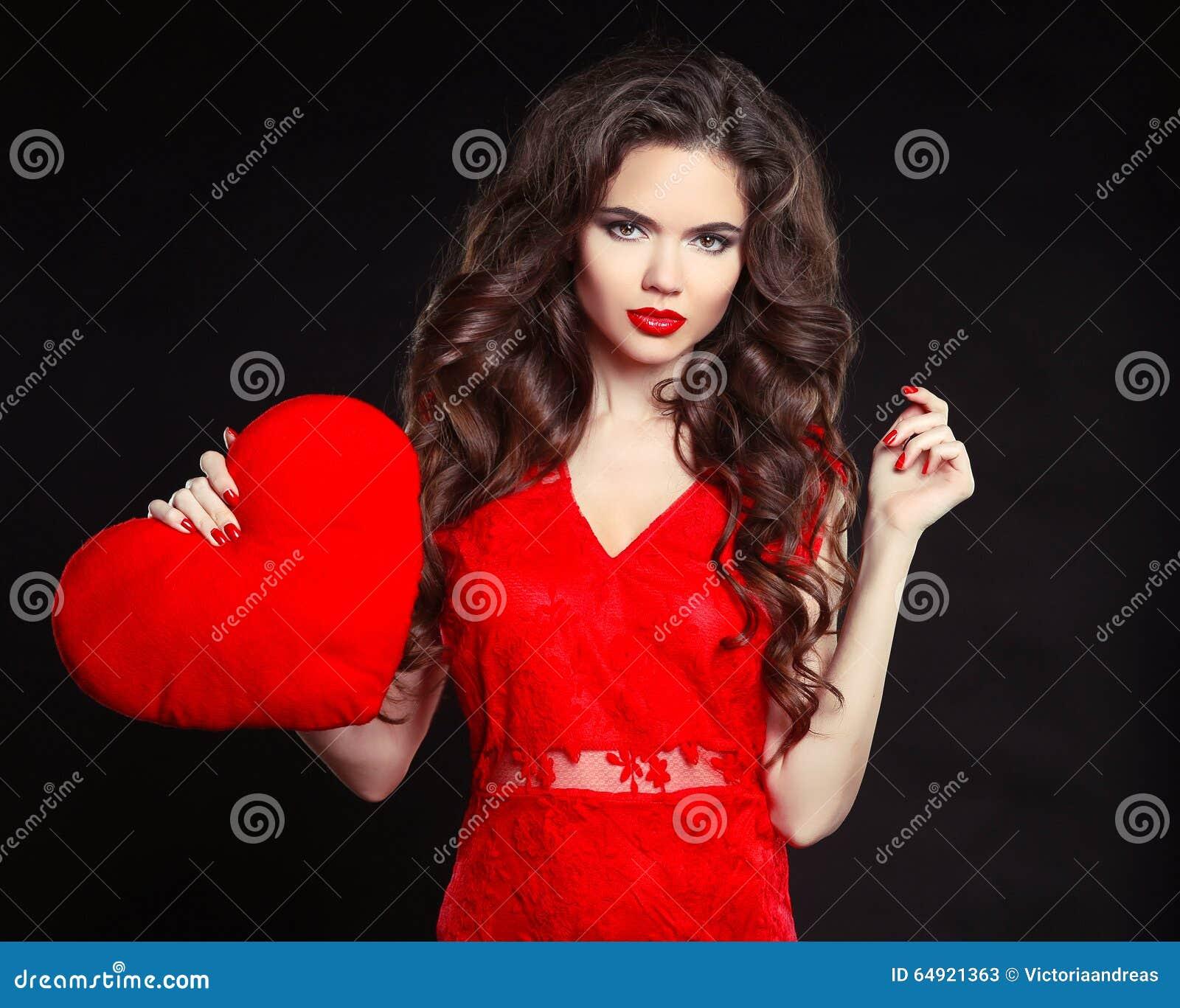 Beautiful Girl With Long Wavy Hair Stock Image 23685097