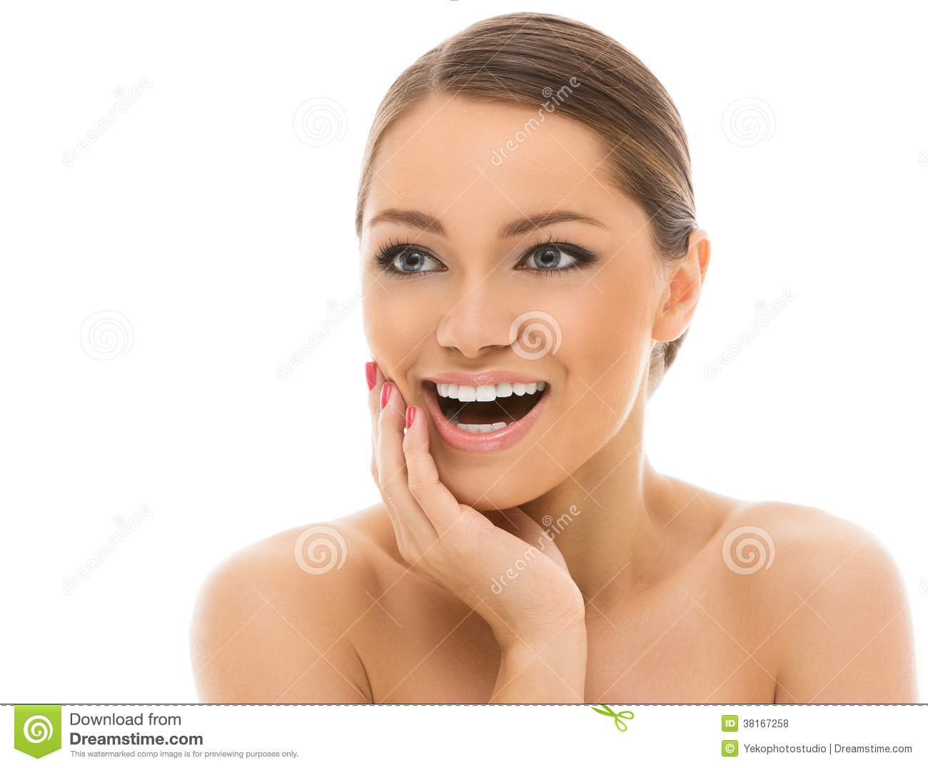 Beautiful girl with perfect face royalty free stock photos image 38167258 - Garls perpact ...