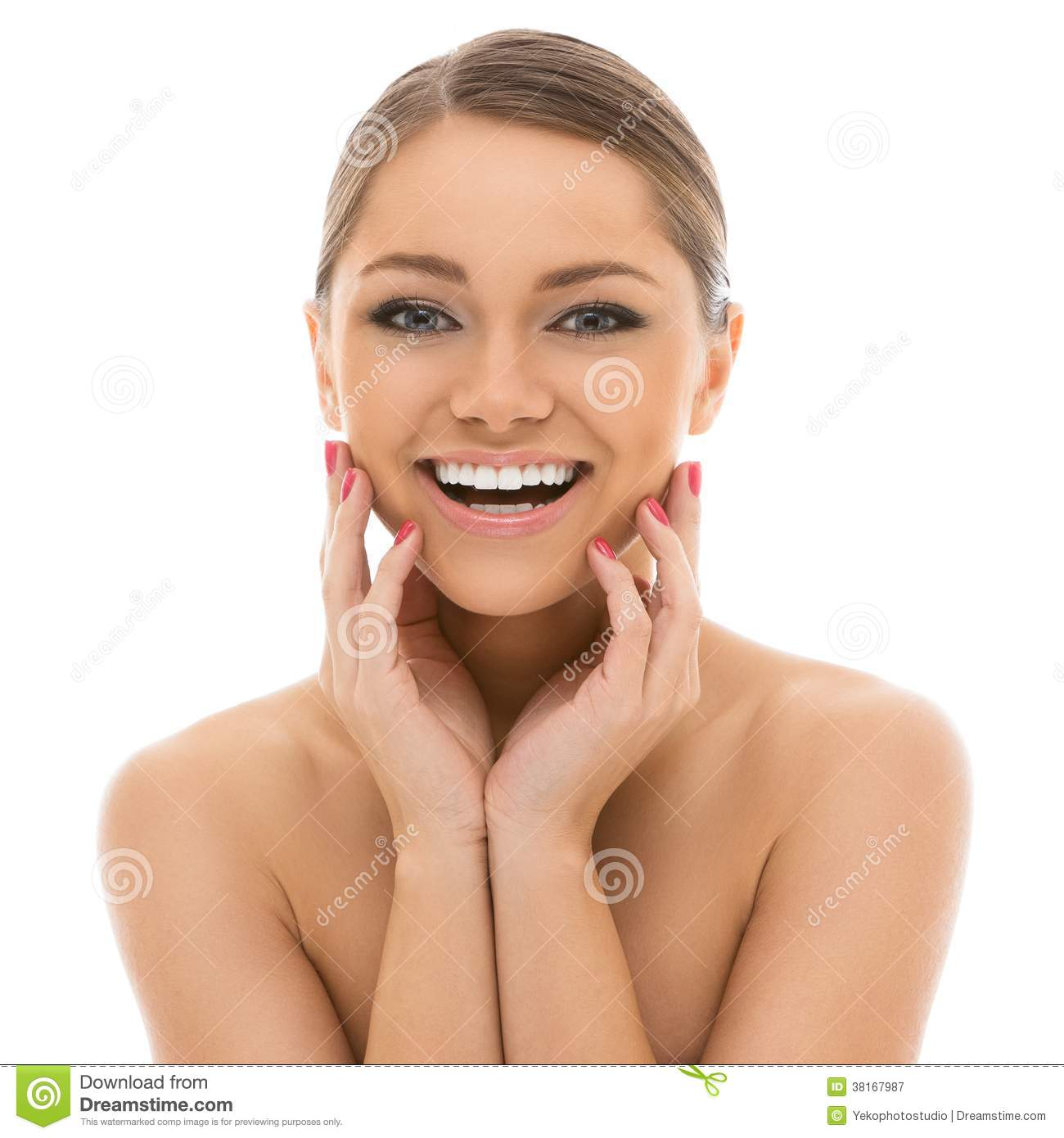 Beautiful girl with perfect face stock image image of clean body 38167987 - Garls perpact ...