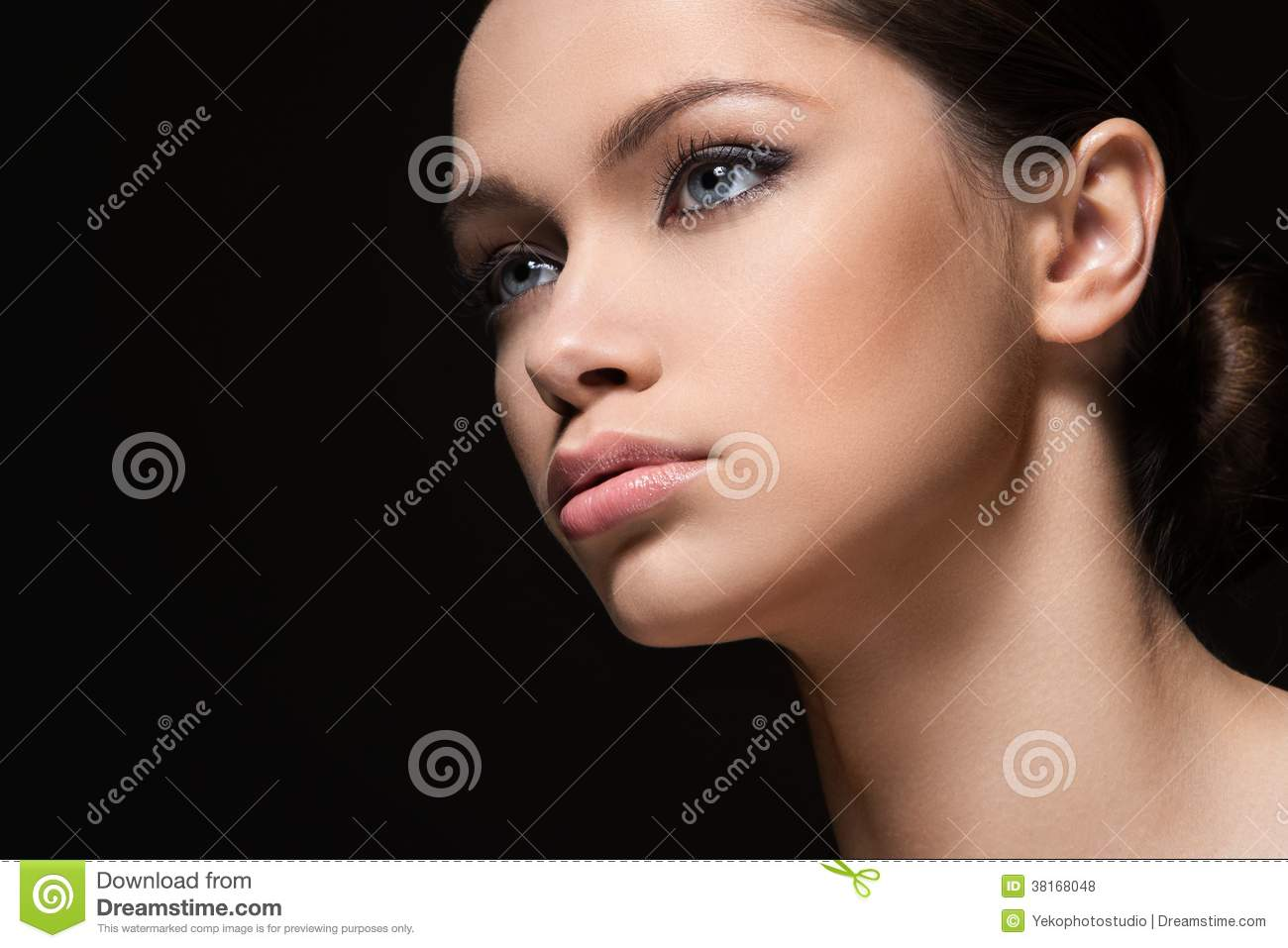 Beautiful girl with perfect face royalty free stock photos image 38168048 - Garls perpact ...