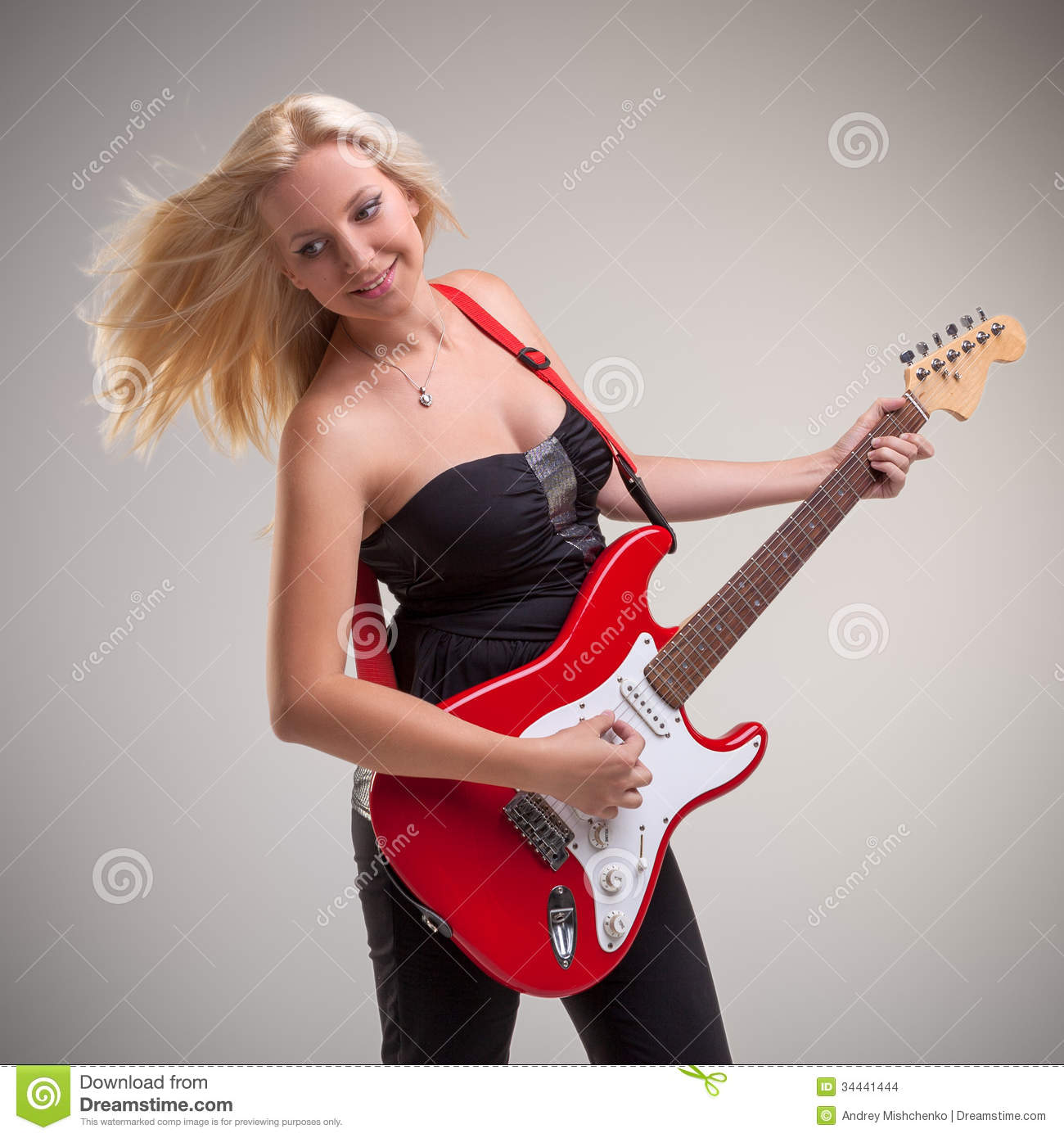 how to play my girl on electric guitar