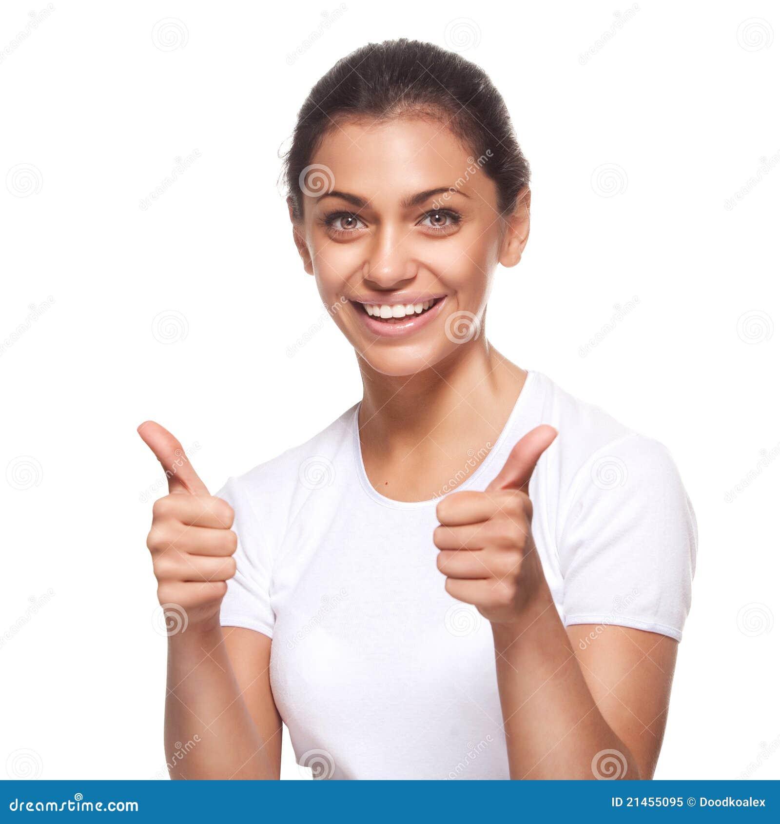 Beautiful Girl Smile: Beautiful Girl With Pretty Smile Stock Image