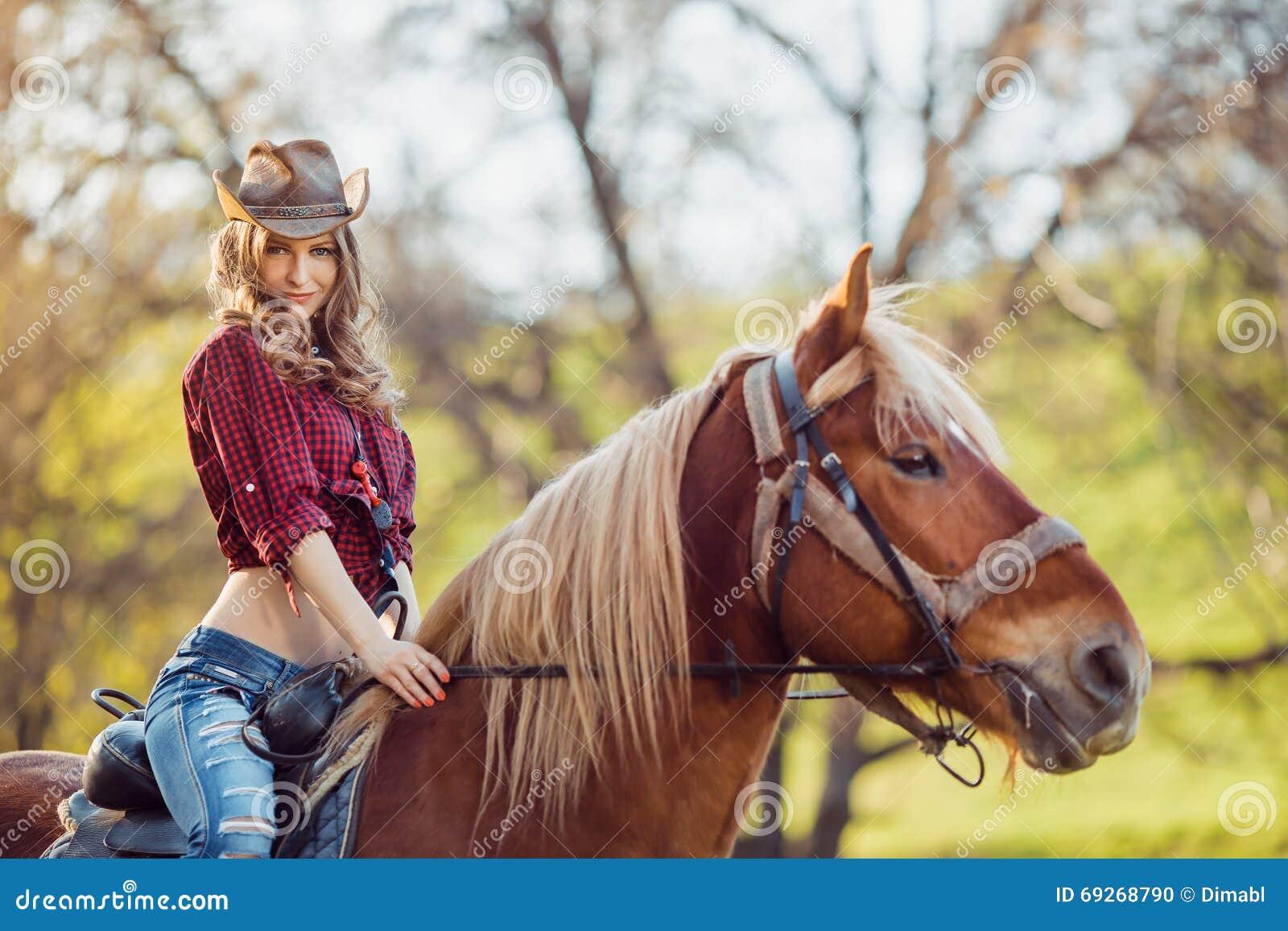 Girls riding girls