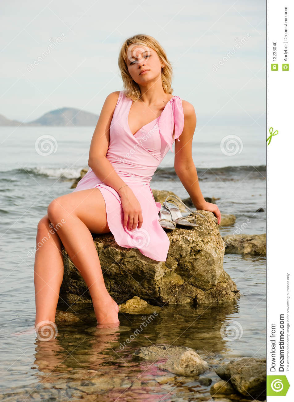 Also, for Girl sitting on rock becoming
