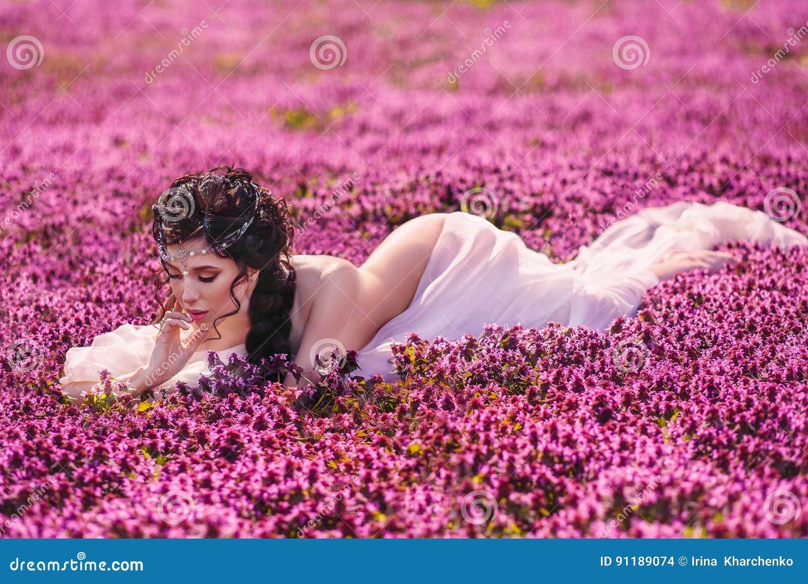 A Beautiful Girl Stock Photo Image Of Fairy Dress Model 91189074