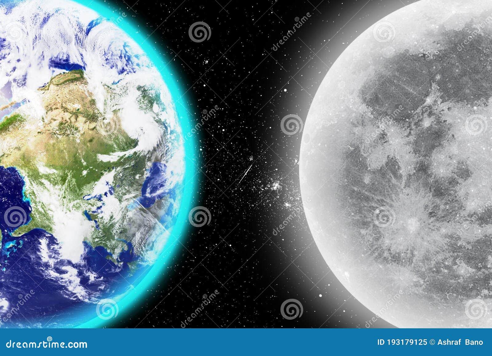 Earth Vs Moon