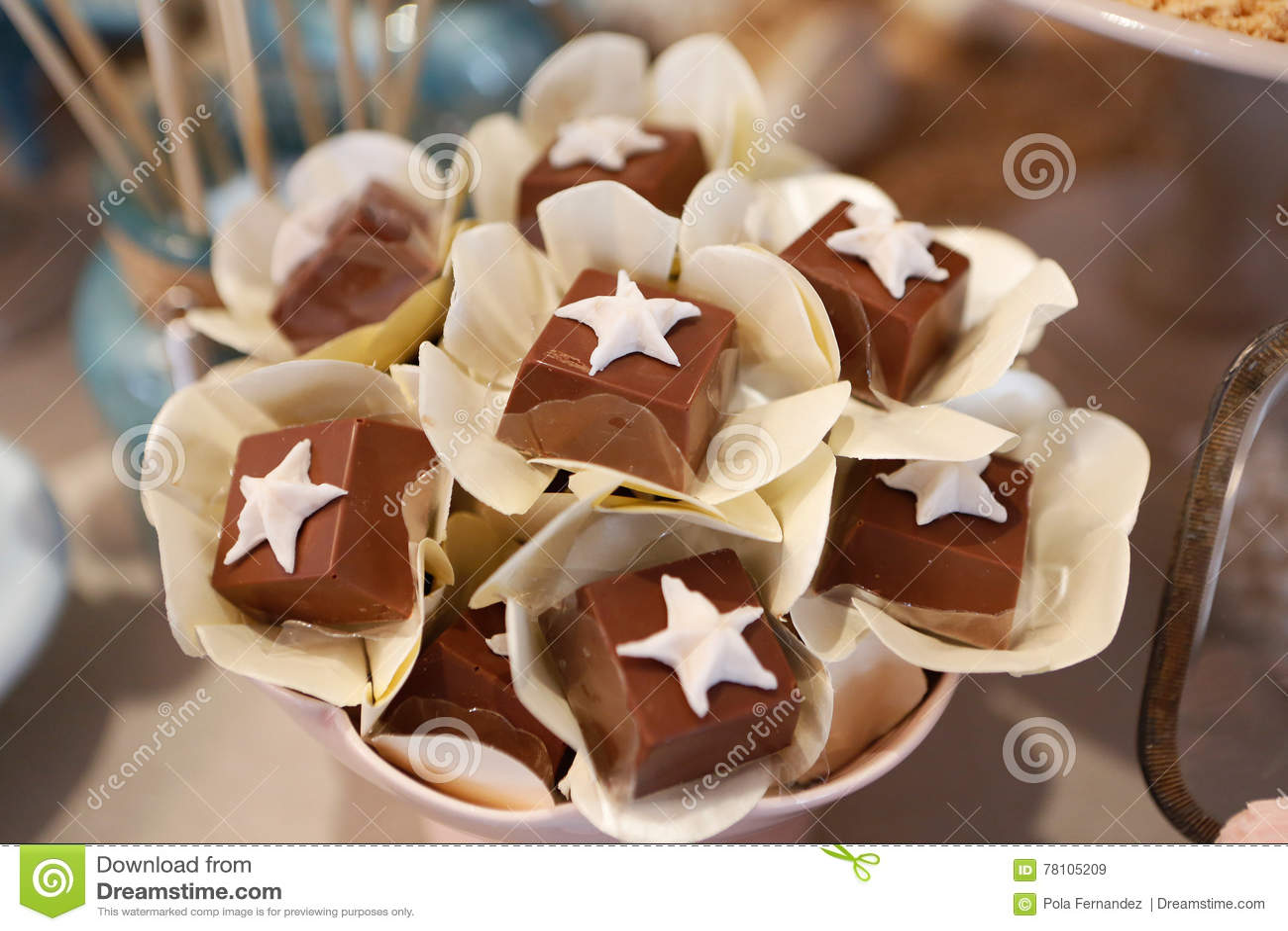 Beautiful Gourmet Tiny Pastry Stock Image Image Of Fresh Calories