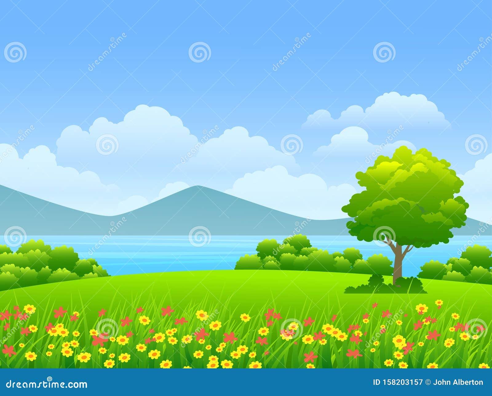 205 Cartoon Grassland Photos Free Royalty Free Stock Photos From Dreamstime