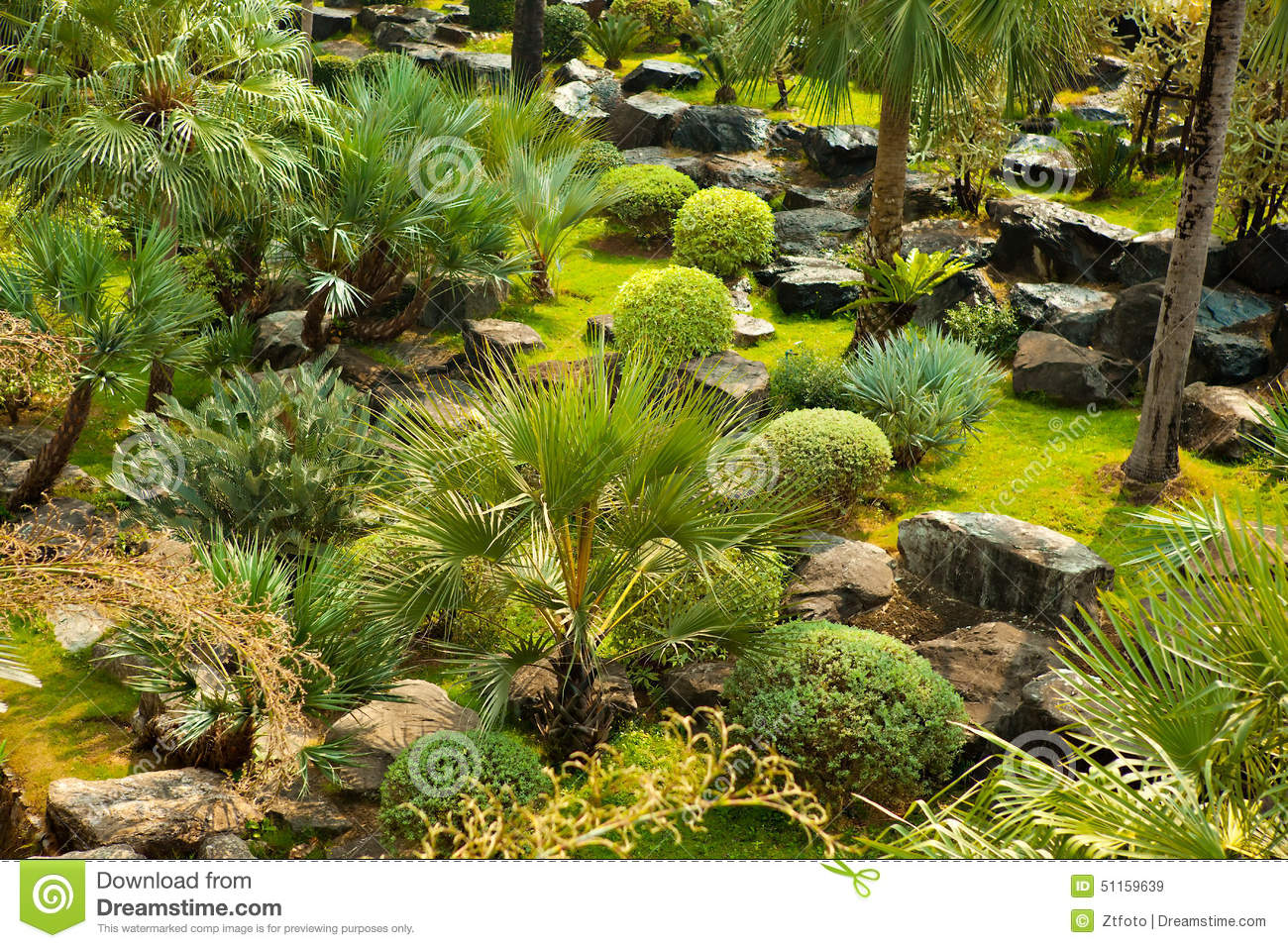 Beautiful green landscape design stock photo image 51159639 for Green landscape design