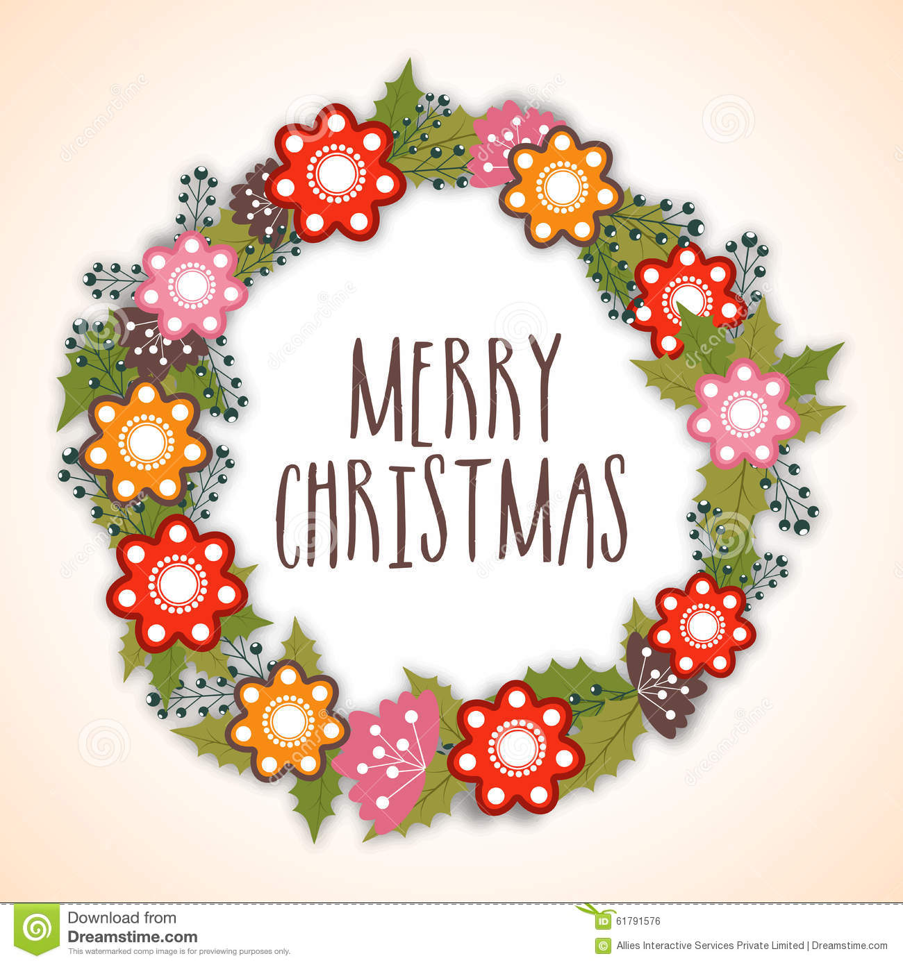 Beautiful greeting card for merry christmas stock photo image beautiful greeting card for merry christmas kristyandbryce Image collections