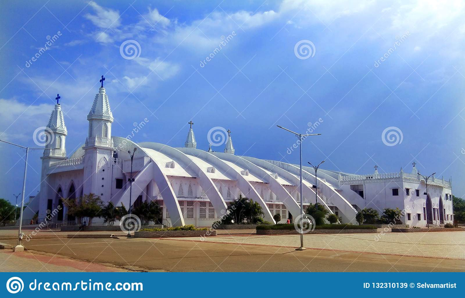 Beautiful Hall Of The World Famous Basilica Of Our Lady Of