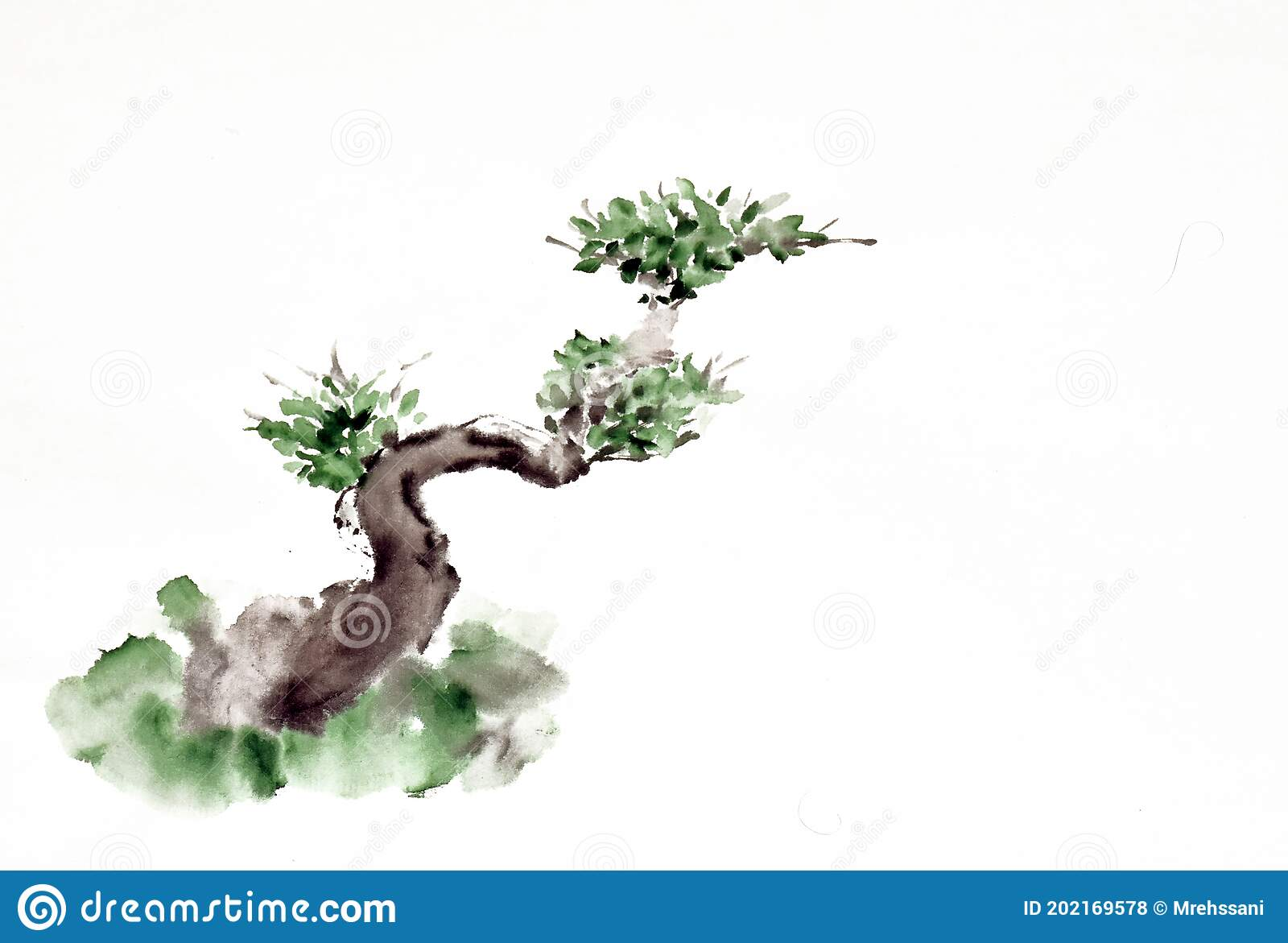 378 Bonsai Painting Stock Illustrations Vectors Clipart Dreamstime