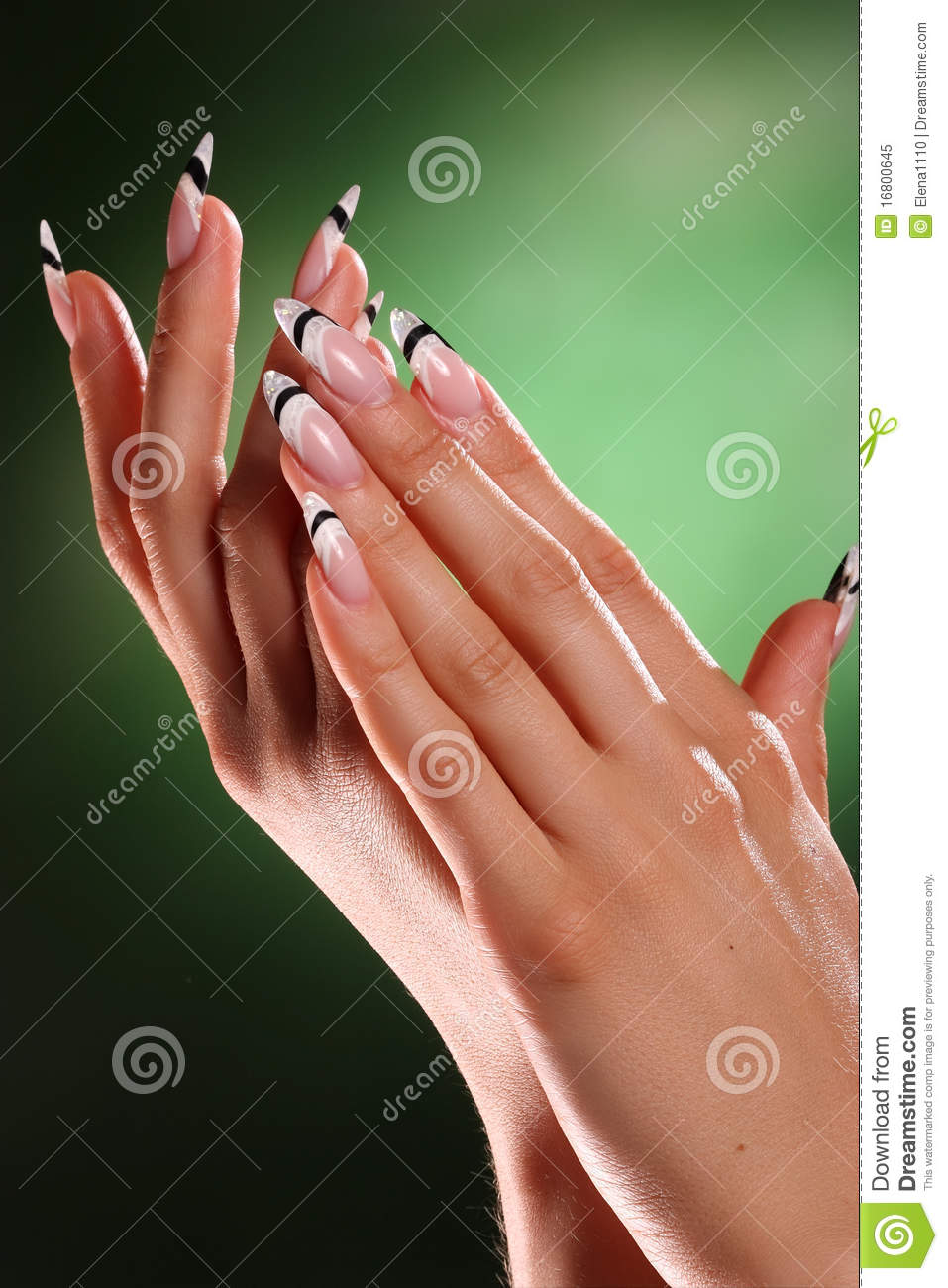 Beautiful Hands And Nails Stock Image Image Of Closeup 16800645