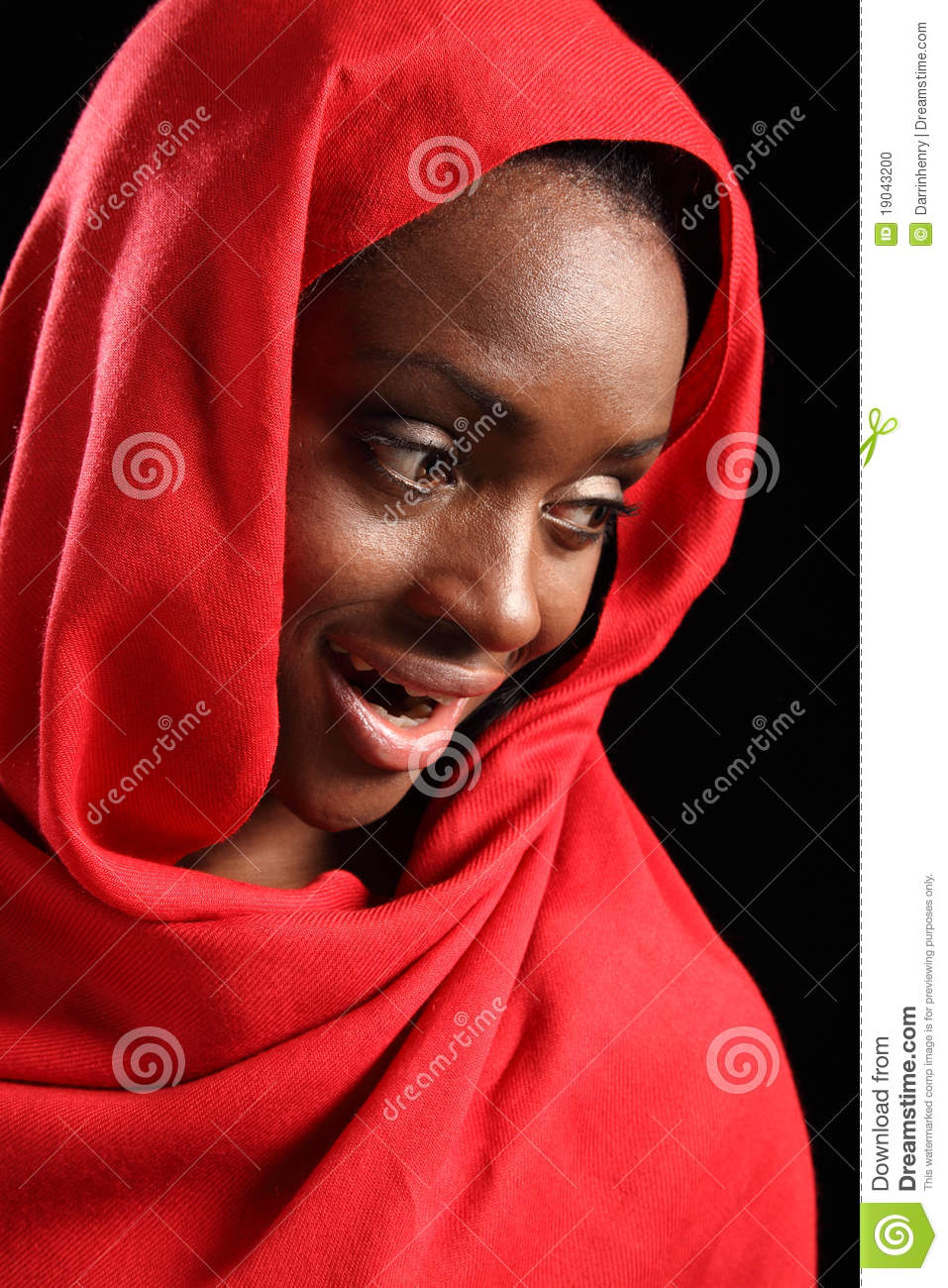 Beautiful African American Muslim Women