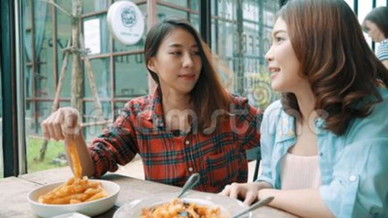 Asian lesbians eating out regret, but