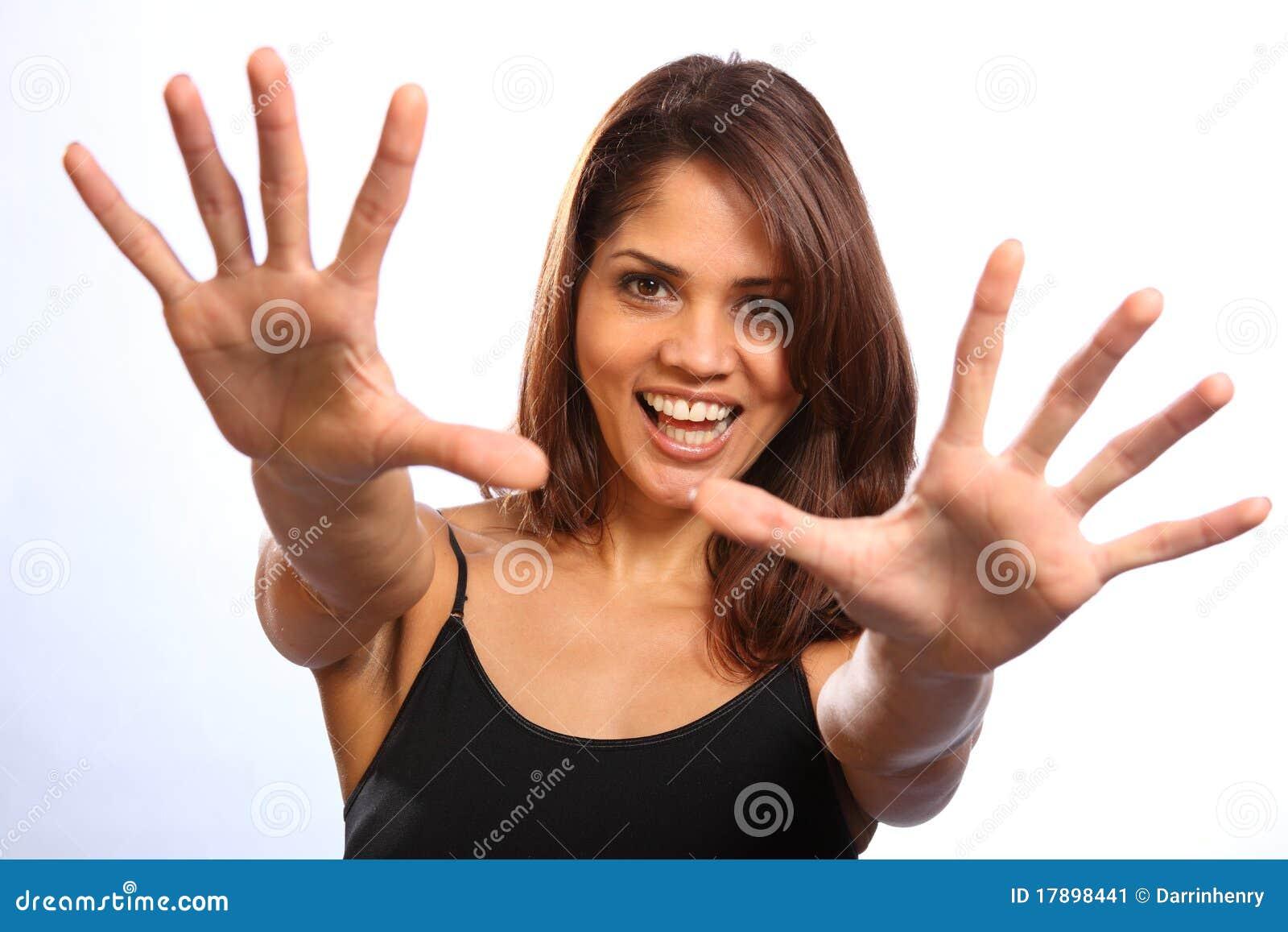 beautiful-happy-young-woman-reaching-out