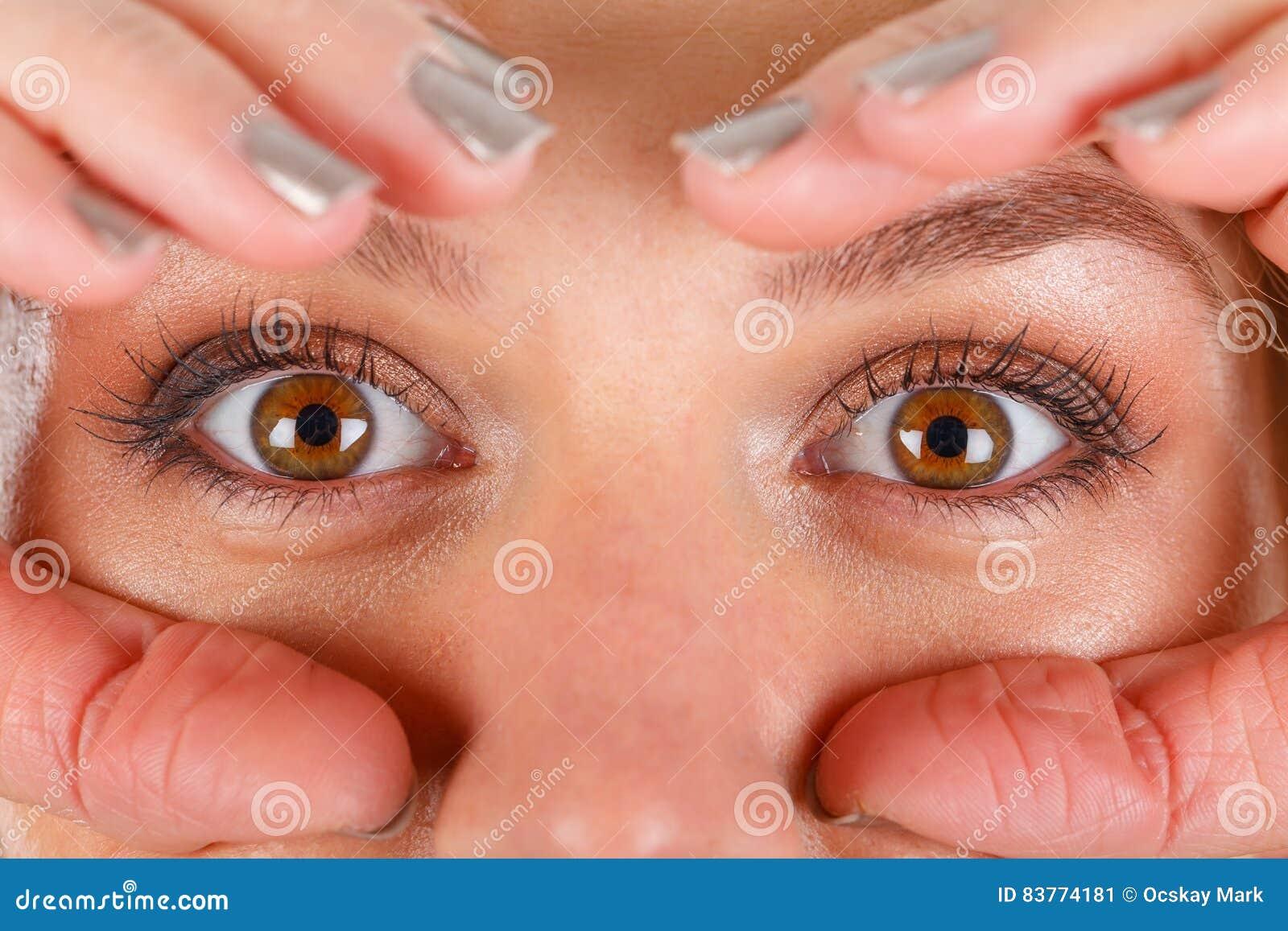 Beautiful hazel eyes
