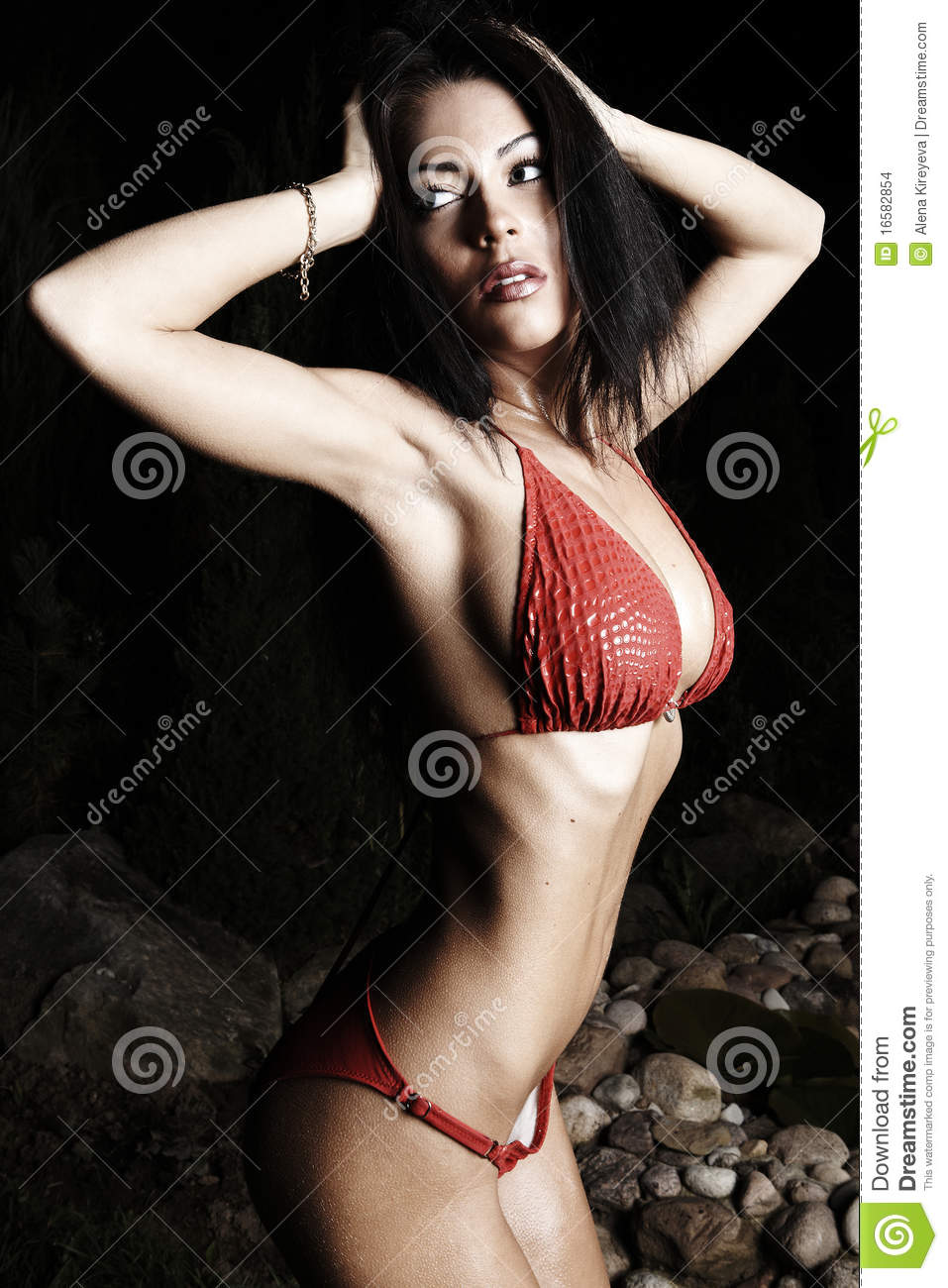 Beautiful healthy fit woman.